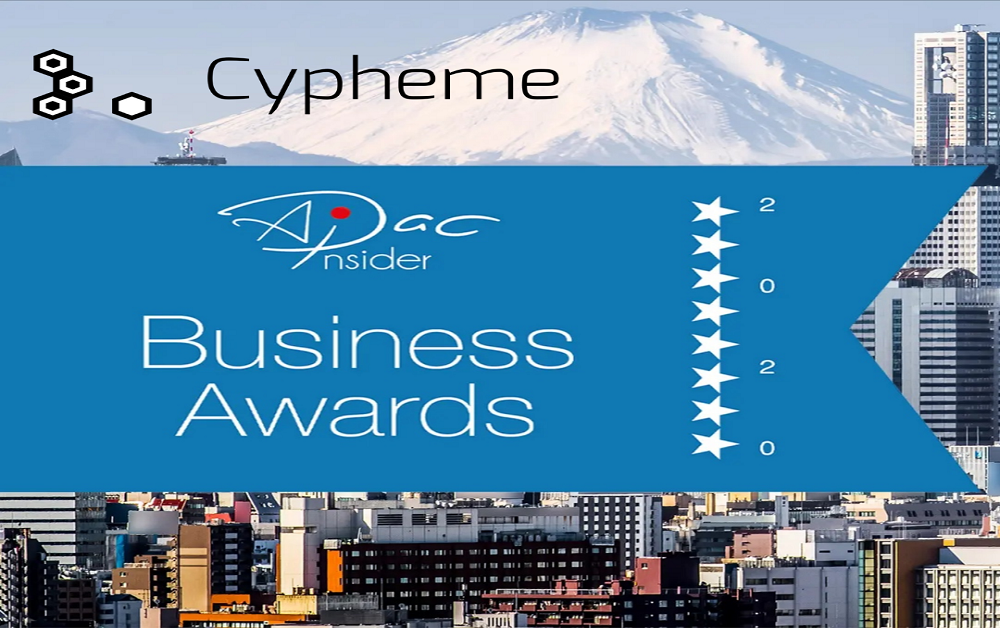 Cypheme wins 'Most Innovative Anti-Counterfeit Systems Provider' Award for 2020!